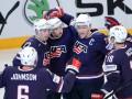США - Франция: Трансляция матча чемпионата мира по хоккею