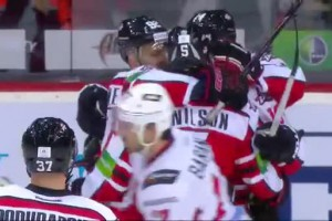 КХЛ: Донбасс - Авангард - 6:1. Видео шайб матча