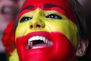 Национальный праздник. Как фанаты сборной Испании отмечали победу на Евро-2012