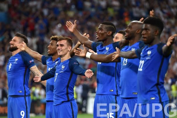 Сборная Франции вышла в финал Евро-2016