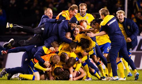 Lucky looser Швеция едет на Евро-2012 минуя стадию плей-офф отбора