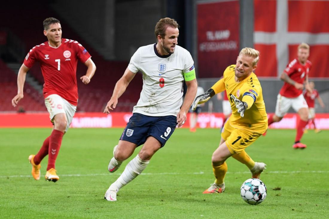 Дания - Англия: обзор матча