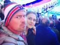 Мы любим нашу державу: Милевский исполнил гимн Беларуси на хоккейном матче