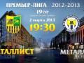 Металлист побеждает гостей из Донецка