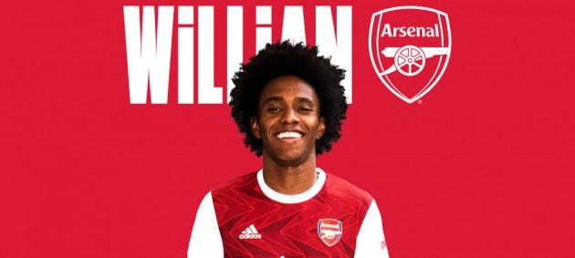 Виллиан стал игроком Арсенала