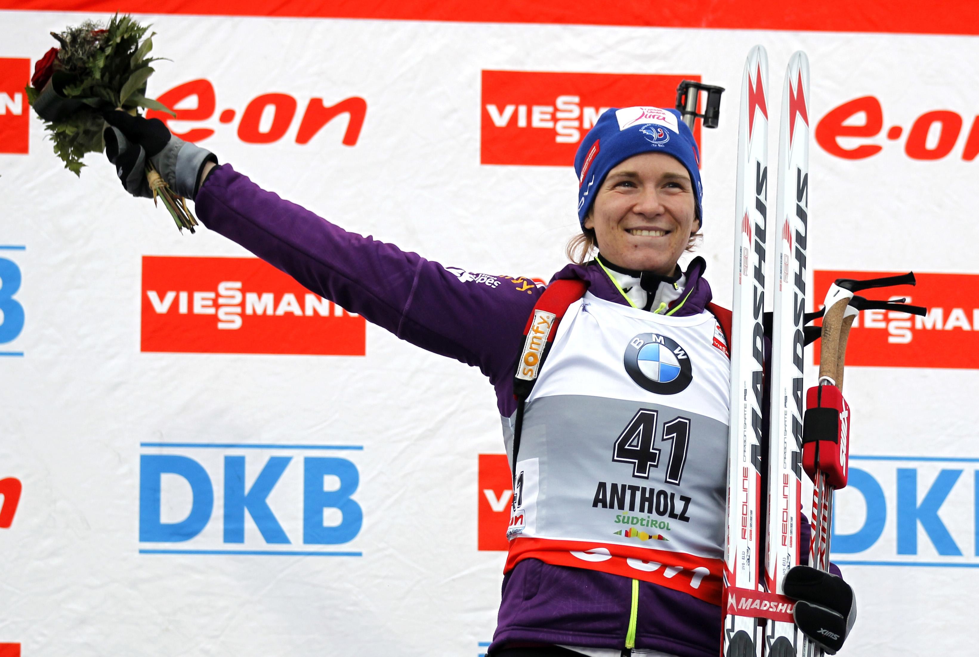 Анэс Бескон выиграла спринт в Антхольце