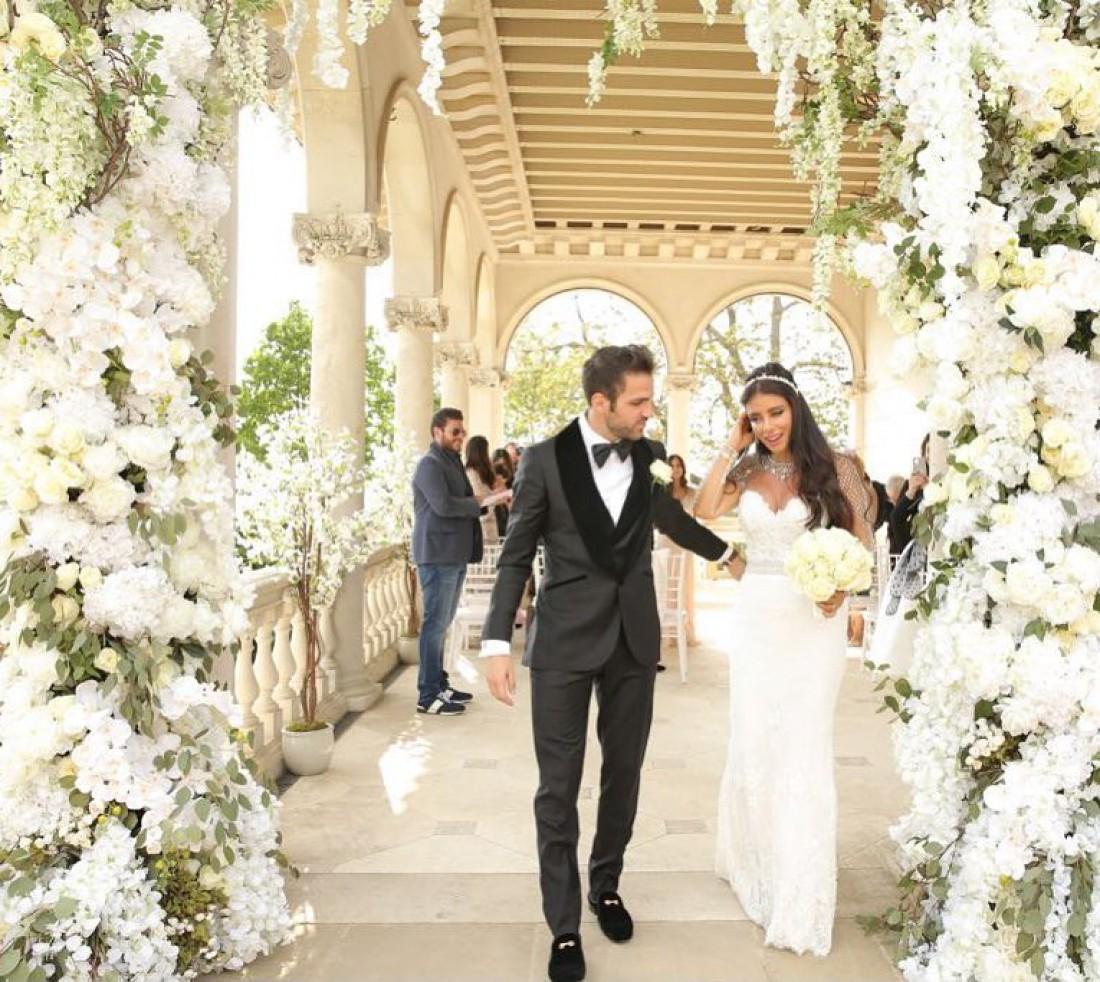 Сеск Фабрегас и Даниэлла Семаан сыграли свадьбу