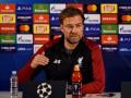Клопп: Завтра мы будем думать о Лиге чемпионов, а в воскресенье - уже о Премьер-лиге