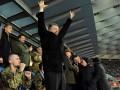 Порошенко, Кличко и бойцы АТО: Как на ВИП-трибуне за Динамо в Киеве болели