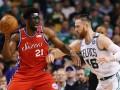 НБА: Бостон открыл счет в серии с Филадельфией