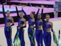 Украинские гимнастки завоевали серебро Европейских игр