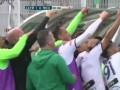 В Марокко футболисты отпраздновали гол командным селфи и сразу же были за это наказаны