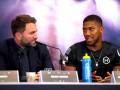 Джошуа продлил сотрудничество с Matchroom Boxing