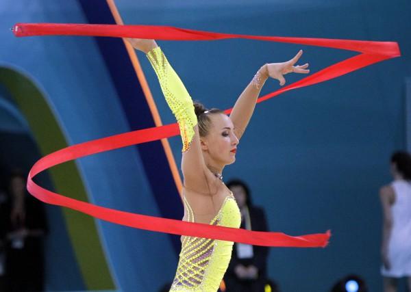 Анна Ризатдинова во время выступления
