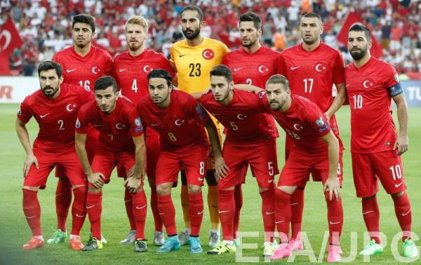 Участник Евро-2016 - сборная Турции