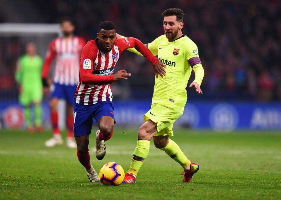 Атлетико - Барселона: видео голов и обзор матча Ла Лиги
