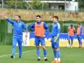 Сборная Украины отправилась на матч против Японии