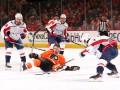 НХЛ: Вашингтон по буллитам обыграл Филадельфию, Айлендерс с трудом выиграл у Торонто