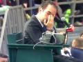 Теннисист чуть не выбил глаз арбитру