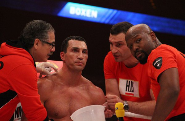Кличко заявил, что использует свои кулаки только в ринге