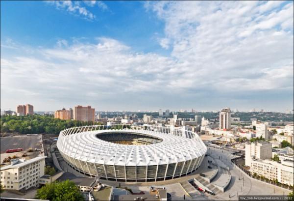 Современный вид стадиона