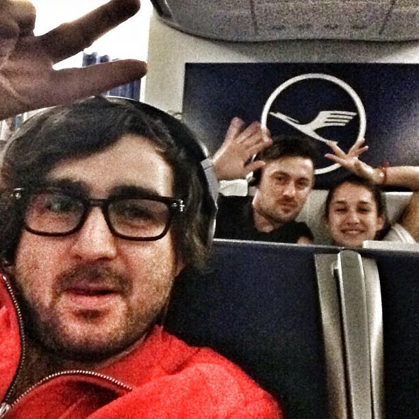 Денис Адлейба поместил фотографию из самолета