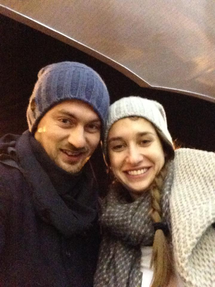 А немного позже и сам Артем порадовал фотографией с Машей Березиной уже из США с подписью