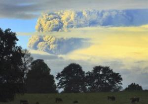 Извержение вулкана в Чили может помешать проведению Кубка Америки