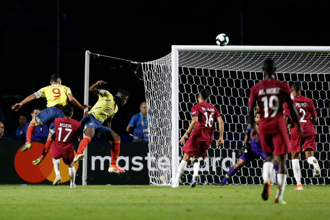 Колумбия победила Катар