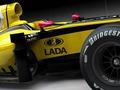 Renault представила болид с рекламным логотипом Lada