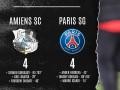 Амьен - ПСЖ 4:4 видео голов и обзор матча чемпионата Франции