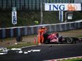 Гран-при Японии – авария Хайме Альгерсуари