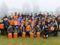 Игроки Шахтера поздравили с Новым годом детей-переселенцев