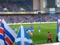 Вера в команду. Первый матч Глазго Рейнджерс в Кубке Лиги Шотландии