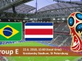 Бразилия – Коста-Рика: когда матч и где смотреть