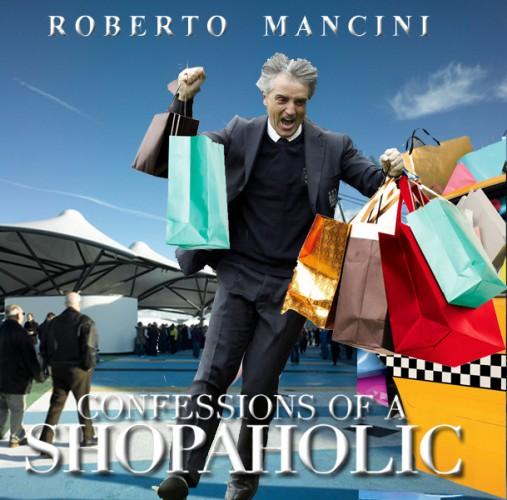 Роберто Манчини (тренер Манчестер Сити) - Признание шопоголика