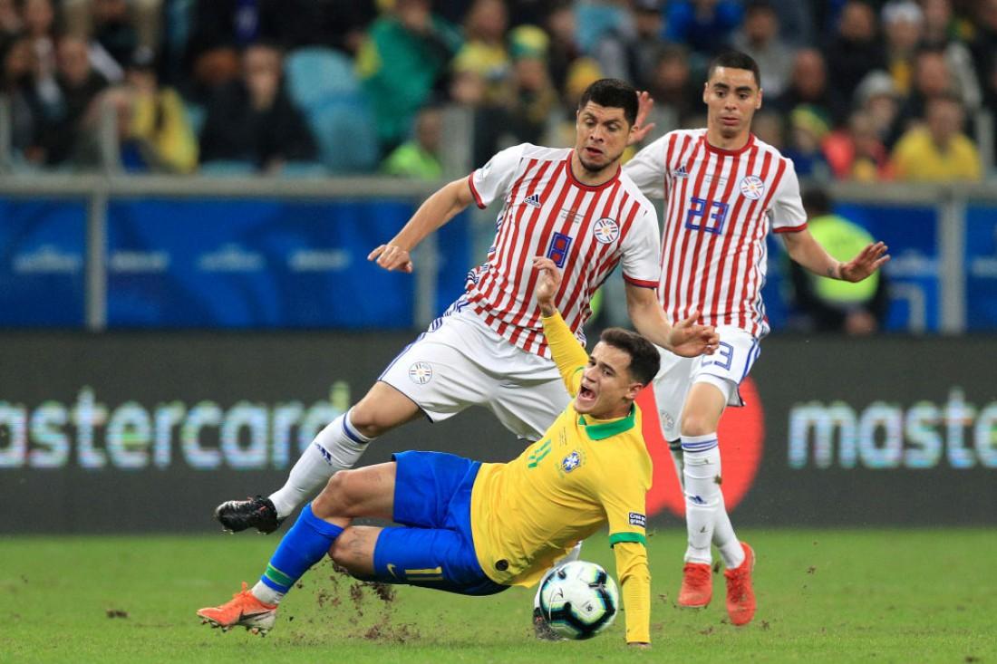 Парагвай уступил Бразилии