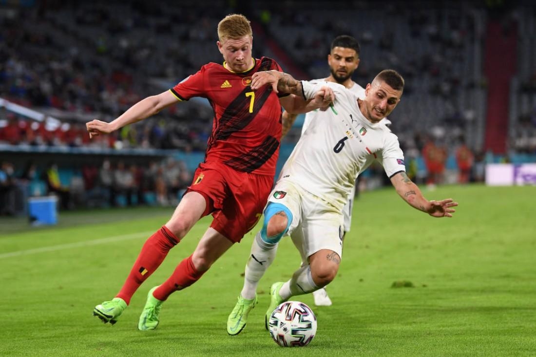 Сборная Бельгии - сборная Италии