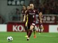 Иньеста забил дебютный гол в Японии с передачи Подольски