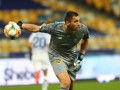 Бущан провел свой 10-й матч за Динамо в еврокубках