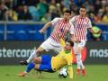 Бразилия - Парагвай 0:0 (4:3 по пен.) видео серии пенальти и обзор матча Кубка Америки