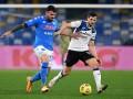 Аталанта и Наполи сыграли вничью в полуфинале Кубка Италии