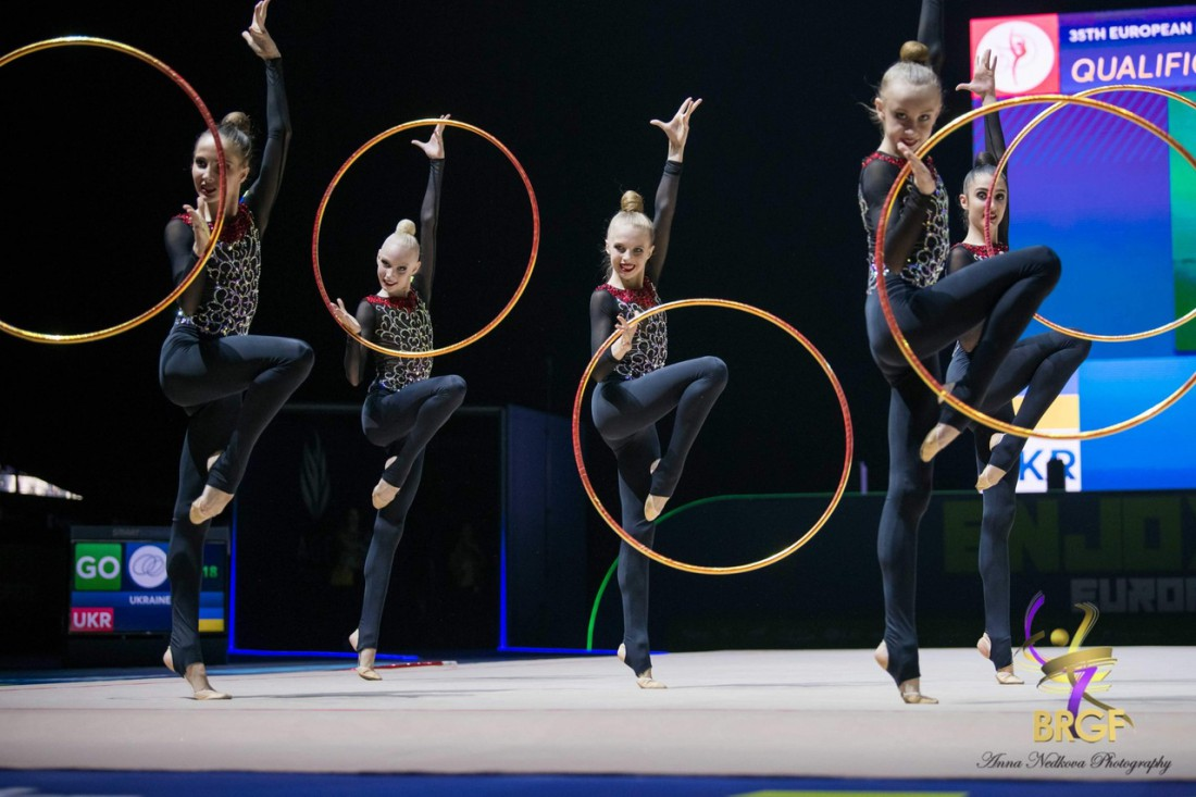 Юниорская сборная Украины в групповых упражнениях