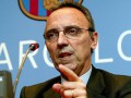 Бывший президент Барселоны искупался в холодном море после победы команды
