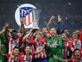 Атлетико повторил рекорд Севильи по победам в Лиге Европы