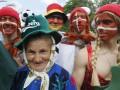 Цвет нации. Европейские фанаты наводнили Львов и Харьков