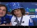 В загуле. Пьяный защитник Челси дает интервью