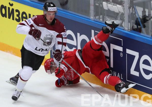 Дания с Латвией провели матч в упорной борьбе