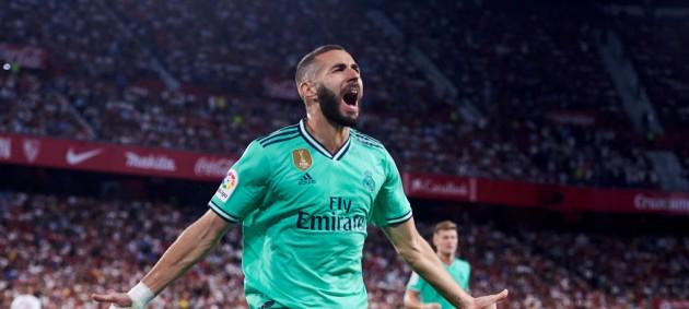 Гол Бензема помог Реалу минимально обыграть Севилью