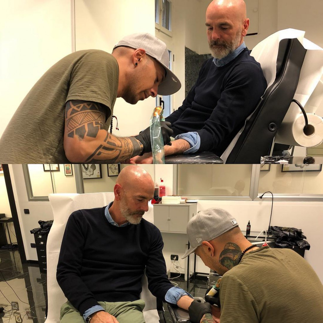 Стефано Пиоли сделал тату в память об Астори